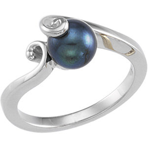 Akoya Aultured Pearl Ring