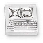 Princess Diamond Information Fact Labels (Pack of 50)
