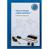 Bead Stringing Instruction Booklet
