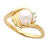 Ring Mounting for 6.0 mm Pearl