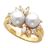 Ring for 7.0 mm Pearls