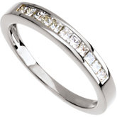 1/3 ct tw Princess-Cut Diamond Anniversary Band