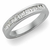 1/3 ct tw Anniversary Ring Mounting for Baguettes