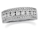 1 1/5 ct tw Diamond Anniversary Band