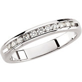 1/4 ct tw Round Diamond Anniversary Band