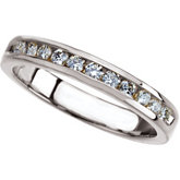 1/3 ct tw Round Diamond Anniversary Band