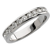 1/2 ct tw Round Diamond Anniversary Band