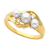 Ring Mounting for 5 mm Pearls