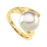 Ring Mounting for Large Pearl