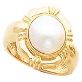 Ring Mounting for Mabe Pearl
