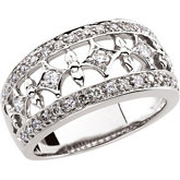 1/2 ct tw Diamond Band