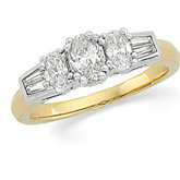 Accented Fashion Ring