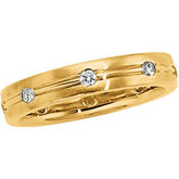 1/3 ct tw Diamond Duo Band