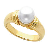 Ring Mounting for 8mm Pearl