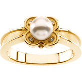Ring Mounitng for Pearl