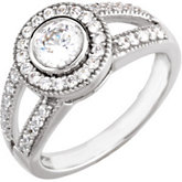 Engagement or Semi-mount Engagement Ring