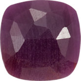Antique Square Genuine Included Ruby