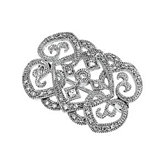 1/3 ct tw Petite Diamond Brooch