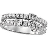 3/4 ct tw Diamond Right Hand Ring