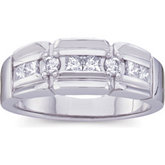 3/4 ct tw Gents Diamond Ring