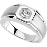 1/4 ct tw Gents Diamond Ring