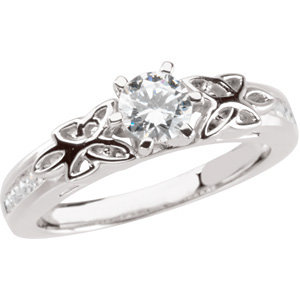 Diamond Engagement Ring, Base or Band