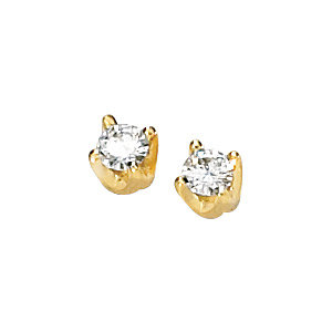 Created Moissanite Solstice Solitaire® Earrings