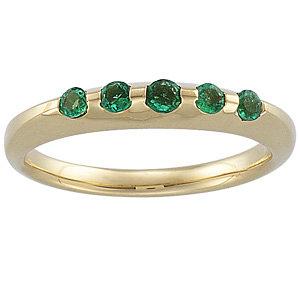 Emerald Anniversary Band