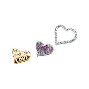 Genuine Pink Sapphire & Diamond Convertible Pendant