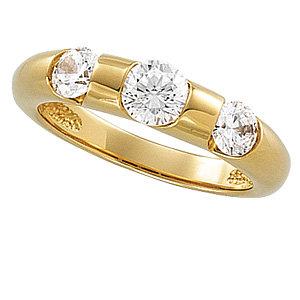 3-Stone Anniversary Ring
