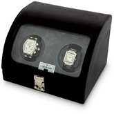 Tritan Black Leather Double Watch Winder