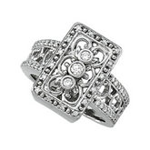 3/8 ct tw Diamond Right Hand Ring