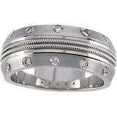1/5 ct tw Diamond Anniversary Band