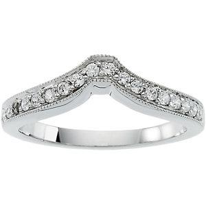Diamond Engagement Base or Band