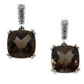 Antique Square Shaped Dangle Earrings