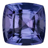 Antique Square Genuine Tanzanite (Black Box)