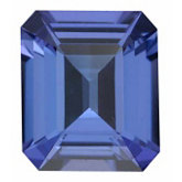 Emerald/Octagon Genuine Tanzanite (Black Box)
