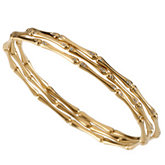 1/6 ct tw Stackable Diamond Bangle Bracelet
