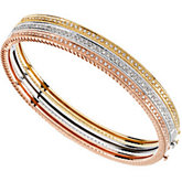 1/3 ct tw Stackable Diamond Bangle Bracelet