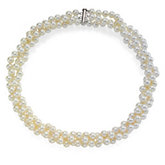 Freshwater White Cultured Pearl Necklace