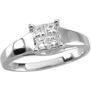 3/8 CTW Engagement Ring