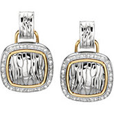 1/2 ct tw Diamond Earrings