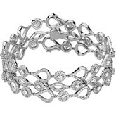 6 1/2 ct tw Diamond Bracelet