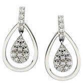 1/4 ct tw Diamond Earrings