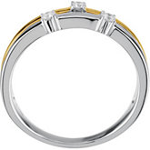 1/10 ct tw Two Tone Diamond Ring