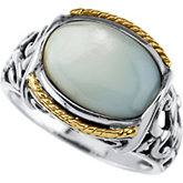 Genuine Mother of Pearl Ring