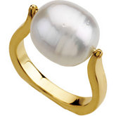 Ring for 12MM Circle Pearl