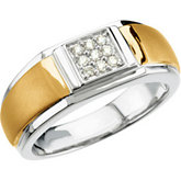 1/6 ct tw Men's Diamond Ring