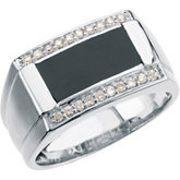 1/4 ct tw Men's Diamond Ring