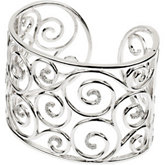 3/8 ct tw Diamond Cuff Bracelet